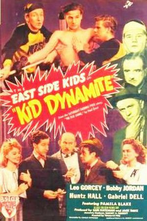 Kid Dynamite (film) - Astor Pictures re-release film poster