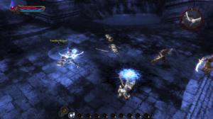 "Kingdoms of Amalur: Reckoning - The player showcasing the ""Reckoning"" mode"