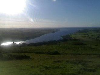 Lough Derravaragh - Lough Derravaragh viewed from   the summit of Knockeyon hill