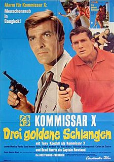 <i>Kommissar X – Drei goldene Schlangen</i> 1969 film by Roberto Mauri
