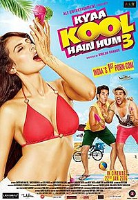 Image result for kyaa kool hain hum 3""