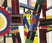 The Railway Crossing, 1919, oil on canvas, 53.8 x 64.8 cm, The Art Institute of Chicago