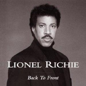 Back to Front (Lionel Richie album) - Image: Lionel Richie Back to Front