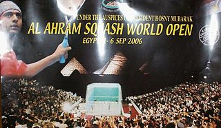 2006 Mens World Open Squash Championship