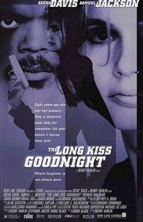 <i>The Long Kiss Goodnight</i> 1996 film by Renny Harlin