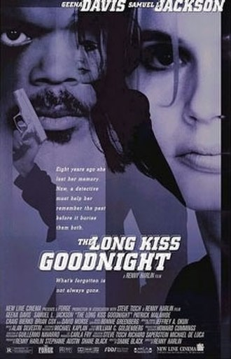 The Long Kiss Goodnight - Theatrical release poster