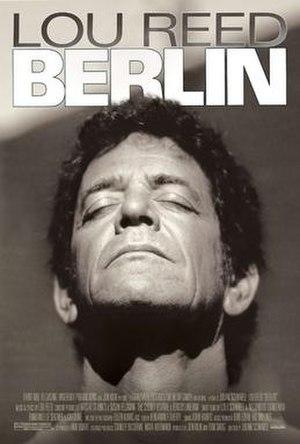 Berlin: Live at St. Ann's Warehouse - Original film poster