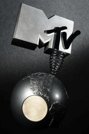 MTV Europe Music Award - Image: MTV EMA trophy