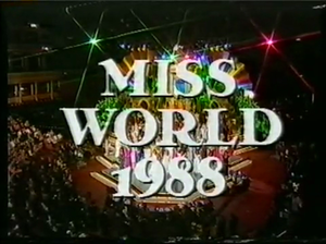 Miss World 1988 - Image: MW 1988 Thames TV