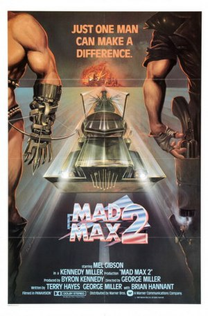 Mad Max 2 - Theatrical release poster