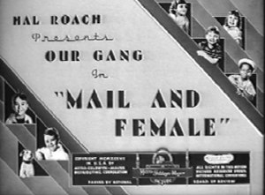 Mail and Female - Title card