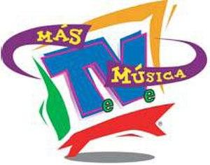 MTV Tres - Más Música logo.