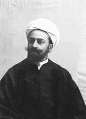 Max von Oppenheim - Max von Oppenheim in Arab-style dress, c. 1896