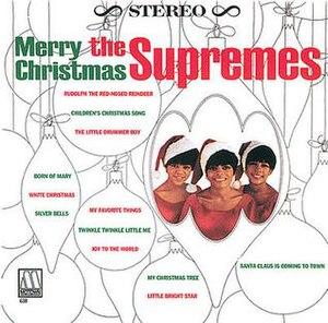 Merry Christmas (The Supremes album) - Image: Merrychristmas supremes 196