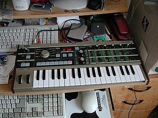 microKORG virtual analog synthesizer and vocoder