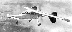 Mikoyan-Gurevich MiG-8 - The MiG-8 in flight