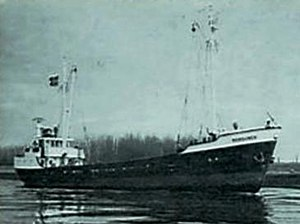 Argentine naval forces in the Falklands War - Coaster Monsunen.