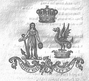 Earl of Eglinton - Image: Montgomerie family crest