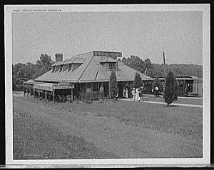 Northern Virginia trolleys - Terminal at Mount Vernon