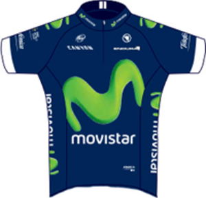 Movistar Team (men's team) - Image: Movistar Team jersey