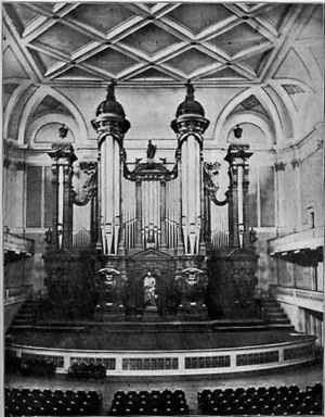 Boston Music Hall - Image: Music Hall Organ