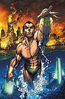 Namor comic book character in the Marvel Comics universe
