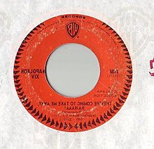Label of the original 7-inch issue