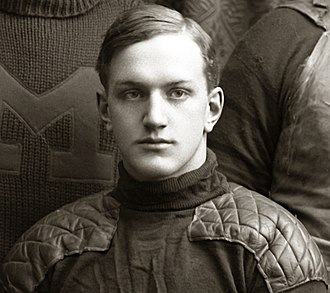 1899 Michigan Wolverines football team - End Neil Snow scored five touchdowns in the first Rose Bowl game.