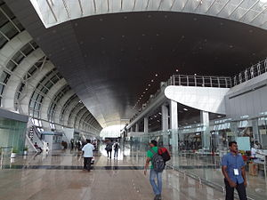 Trivandrum International Airport - Inside Terminal 2