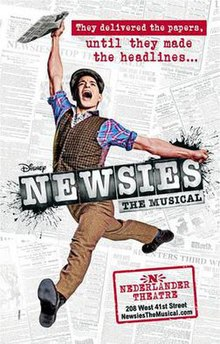 Newsies (musical) poster.jpg