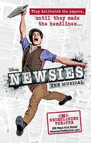 Newsies (musical) - Original Broadway artwork