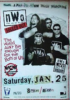 Souled Out (1997) 1997 World Championship Wrestling pay-per-view event