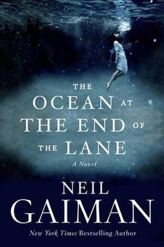 The Ocean at the End of the Lane - First edition hardcover for the United States
