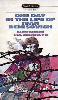 <i>One Day in the Life of Ivan Denisovich</i> novel by the Russian author Aleksandr Solzhenitsyn