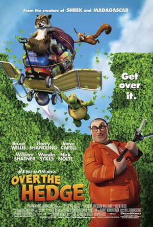 Over the Hedge (film) - Theatrical release poster