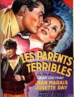 <i>Les Parents terribles</i> (1948 film) 1948 film by Jean Cocteau