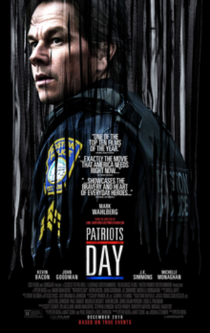 Patriots Day (film) - Theatrical release poster