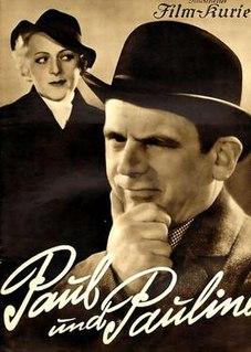 <i>Paul and Pauline</i> 1936 film by Heinz Paul