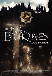 <i>The Piano Tuner of Earthquakes</i> 2005 German film directed by Stephen QuayTimothy Quay