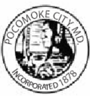 Pocomoke City, Maryland - Image: Pocomoke city md seal