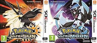 <i>Pokémon Ultra Sun</i> and <i>Ultra Moon</i> 2017 video games