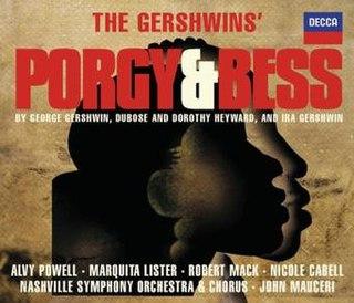 <i>The Gershwins Porgy and Bess</i> 2006 studio album by Decca Records