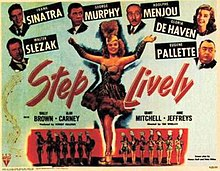 Poster of Step Lively (1944 film).jpg