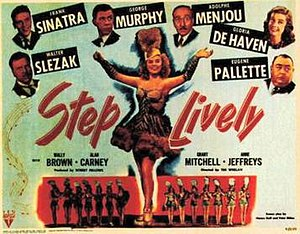 Step Lively (1944 film) - Theatrical release lobby card