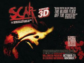Scar (film) - Image: Poster of the movie Scar