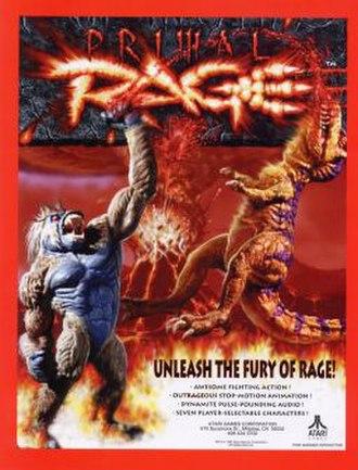 Primal Rage - Image: Primal Rage flyer