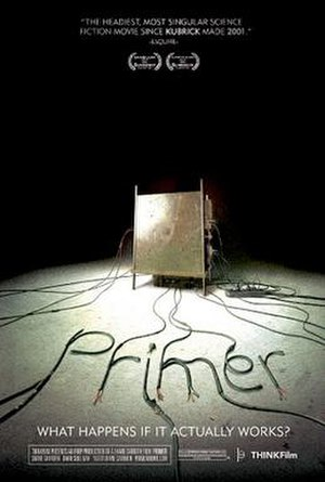 Primer (film) - Theatrical release poster
