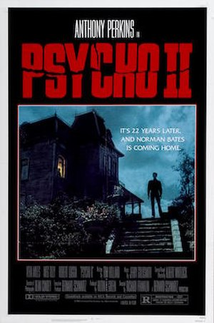 Psycho II (film) - Theatrical release poster