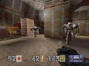 Quake II - Quake II on the PlayStation