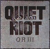 QR III cover